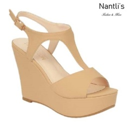 BL-Christy-47 Nude Zapatos de Mujer Mayoreo Wholesale Women Shoes Wedges Nantlis
