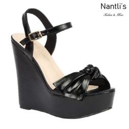 BL-Dalia-12 Black Zapatos de Mujer Mayoreo Wholesale Women Shoes Wedges Nantlis