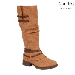 BL-Danita-1 Cognac Botas de Mujer Mayoreo Wholesale Womens Boots Nantlis