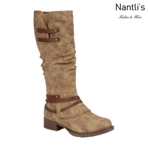 BL-Danita-1 Nude Botas de Mujer Mayoreo Wholesale Womens Boots Nantlis