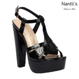 BL-duncan-1 Black Zapatos de Mujer Mayoreo Wholesale Women Heels Shoes Nantlis