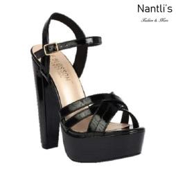 BL-Duncan-2 Black Zapatos de Mujer Mayoreo Wholesale Women Heels Shoes Nantlis