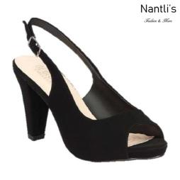 BL-Fay-2 Black Zapatos de Mujer Mayoreo Wholesale Women Heels Shoes Nantlis