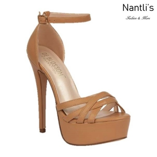 BL-Flora-10 Nude Zapatos de Mujer Mayoreo Wholesale Women Heels Shoes Nantlis