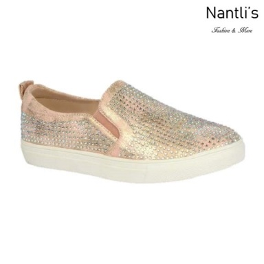 BL-K-Ashley-8 Nude Zapatos de nina Mayoreo Wholesale kids sneakers Shoes Nantlis