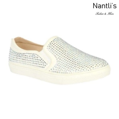 BL-K-Ashley-8 White Zapatos de nina Mayoreo Wholesale kids sneakers Shoes Nantlis