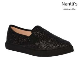 BL-K-Asuka-1 Black Zapatos de nina Mayoreo Wholesale kids sneakers Shoes Nantlis