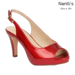 BL-Kenny-20 Red Zapatos de Mujer Mayoreo Wholesale Women Heels Shoes Nantlis