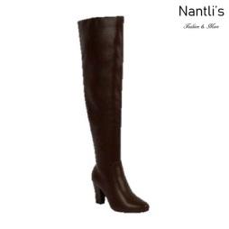 BL-Lucia-11 Brown Botas de Mujer Mayoreo Wholesale Womens Boots Nantlis