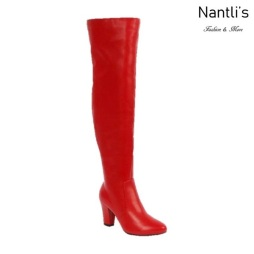 BL-Lucia-11 Red Botas de Mujer Mayoreo Wholesale Womens Boots Nantlis