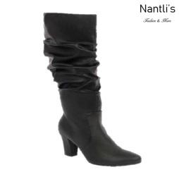 BL-Lucia-13 Black Botas de Mujer Mayoreo Wholesale Womens Boots Nantlis