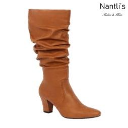BL-Lucia-13 Tan Botas de Mujer Mayoreo Wholesale Womens Boots Nantlis