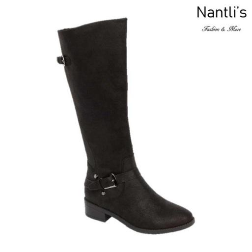 BL-Mason-11 Black Botas de Mujer Mayoreo Wholesale Womens Boots Nantlis