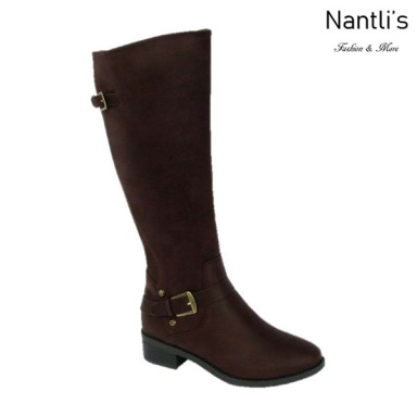 BL-Mason-11 Brown Botas de Mujer Mayoreo Wholesale Womens Boots Nantlis