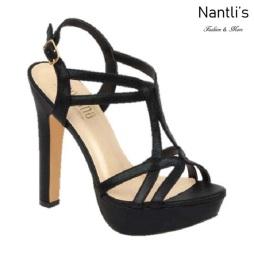 BL-Miya-36 Black Zapatos de Mujer Mayoreo Wholesale Women Heels Shoes Nantlis