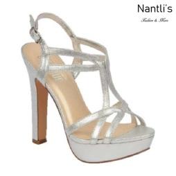 BL-Miya-36 Silver Zapatos de Mujer Mayoreo Wholesale Women Heels Shoes Nantlis