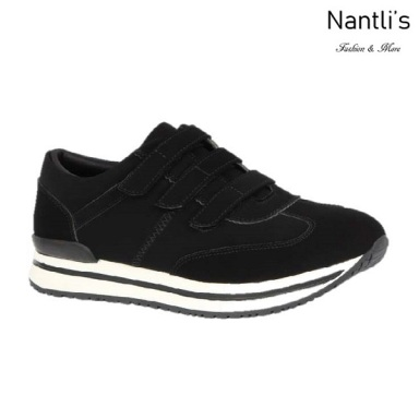 BL-Nelly-13 Black Zapatos de Mujer Mayoreo Wholesale Women Shoes sneakers Nantlis