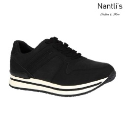 BL-Nelly-18 Black Zapatos de Mujer Mayoreo Wholesale Women Shoes sneakers Nantlis