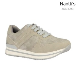BL-Nelly-18 Grey Zapatos de Mujer Mayoreo Wholesale Women Shoes sneakers Nantlis
