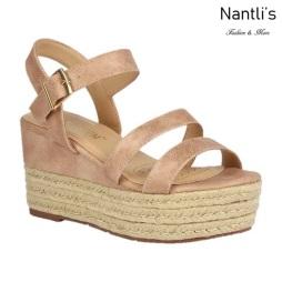 BL-Nina-11 Blush Zapatos de Mujer Mayoreo Wholesale Women Shoes Wedges Nantlis