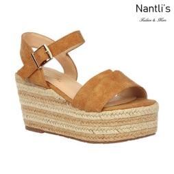 BL-Nina-16 Tan Zapatos de Mujer Mayoreo Wholesale Women Shoes Wedges Nantlis
