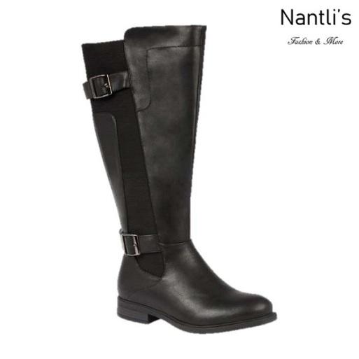 BL-Pita-37W Black Botas de Mujer Mayoreo Wholesale Womens Boots Nantlis