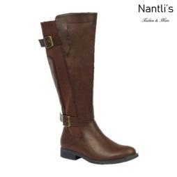 BL-Pita-37W Brown Botas de Mujer Mayoreo Wholesale Womens Boots Nantlis