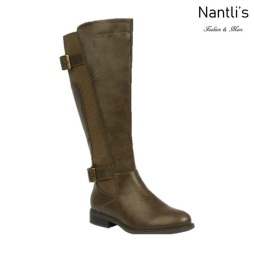 BL-Pita-37W Olive Botas de Mujer Mayoreo Wholesale Womens Boots Nantlis