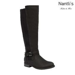 BL-Pita-46 Black Botas de Mujer Mayoreo Wholesale Womens Boots Nantlis