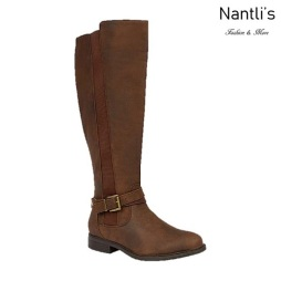 BL-Pita-46 Brown Botas de Mujer Mayoreo Wholesale Womens Boots Nantlis