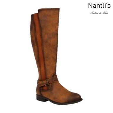 BL-Pita-46 Cognac Botas de Mujer Mayoreo Wholesale Womens Boots Nantlis