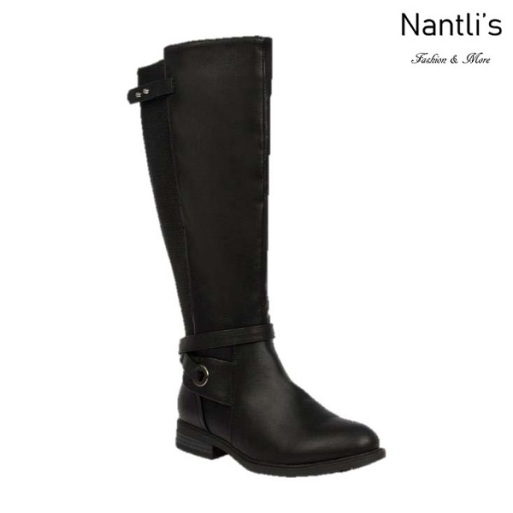 BL-Pita-47W Black Botas de Mujer Mayoreo Wholesale Womens Boots Nantlis