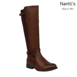 BL-Pita-47W Brown Botas de Mujer Mayoreo Wholesale Womens Boots Nantlis
