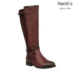 BL-Pita-47W Burgundy Botas de Mujer Mayoreo Wholesale Womens Boots Nantlis