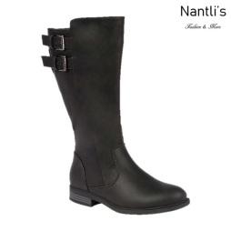 BL-Pita-50W Black Botas de Mujer Mayoreo Wholesale Womens Boots Nantlis