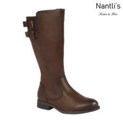 BL-Pita-50W Brown Botas de Mujer Mayoreo Wholesale Womens Boots Nantlis