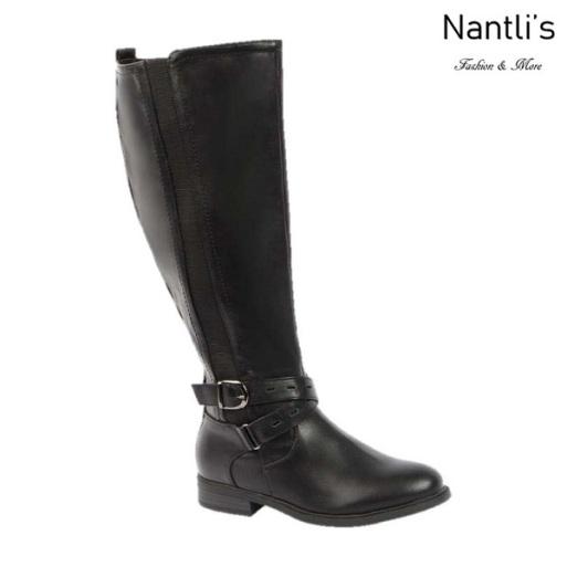 BL-Pita-51w Black Botas de Mujer Mayoreo Wholesale Womens Boots Nantlis