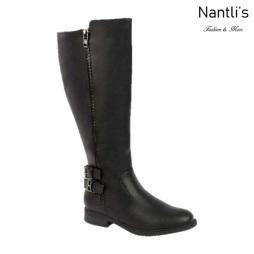 BL-Pita-54w Black Botas de Mujer Mayoreo Wholesale Womens Boots Nantlis