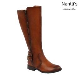 BL-Pita-54w Cognac Botas de Mujer Mayoreo Wholesale Womens Boots Nantlis