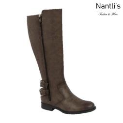BL-Pita-54w Grey Botas de Mujer Mayoreo Wholesale Womens Boots Nantlis