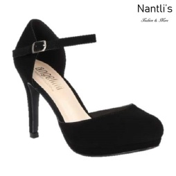 BL-Rosie-11 Black Zapatos de Mujer Mayoreo Wholesale Women Heels Shoes Nantlis