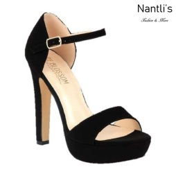 BL-Sally-15 Black Zapatos de Mujer Mayoreo Wholesale Women Heels Shoes Nantlis