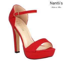 BL-Sally-15 Red Zapatos de Mujer Mayoreo Wholesale Women Heels Shoes Nantlis
