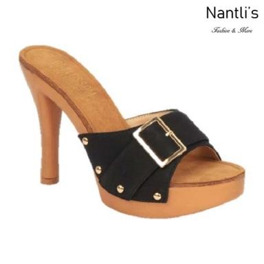 BL-Sandra-1 Black Zapatos de Mujer Mayoreo Wholesale Women Heels Shoes Nantlis