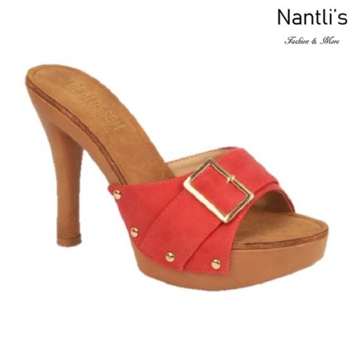 BL-Sandra-1 Red Zapatos de Mujer Mayoreo Wholesale Women Heels Shoes Nantlis