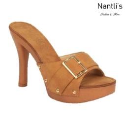 BL-Sandra-1 Tan Zapatos de Mujer Mayoreo Wholesale Women Heels Shoes Nantlis
