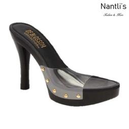 BL-Sandra-3 Black Zapatos de Mujer Mayoreo Wholesale Women Heels Shoes Nantlis