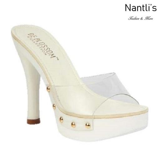 BL-Sandra-3 White Zapatos de Mujer Mayoreo Wholesale Women Heels Shoes Nantlis