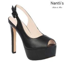 BL-Sarena-6 Black Zapatos de Mujer Mayoreo Wholesale Women Heels Shoes Nantlis