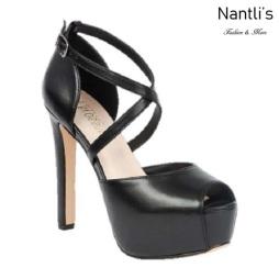 BL-Sarena-7 Black Zapatos de Mujer Mayoreo Wholesale Women Heels Shoes Nantlis